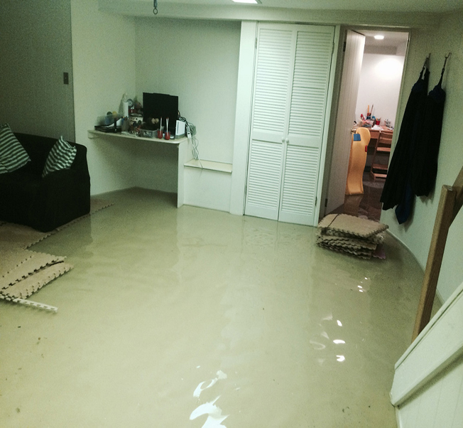 Elwood Water damage restoration